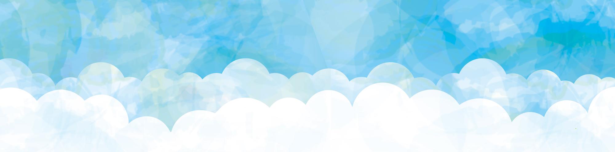 空のイラスト